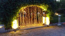 Tenda di lampadine
